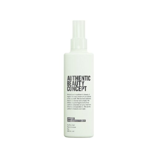 authentic beauty concept,haircare product,hair care product,spray conditioner,vegan haircare product,vegan hair care product,vegan conditioner,vegan spray conditioner
